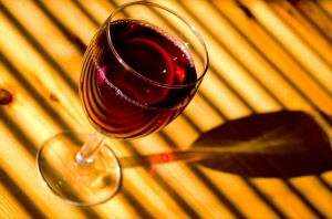 Large glass red wine