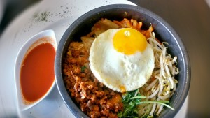 dish of Korean food