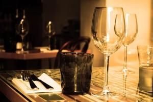 restaurant table