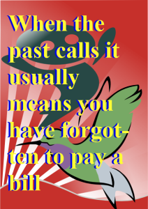 Poster, when the past calls