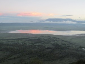 Ngorongoro Crater at dawn